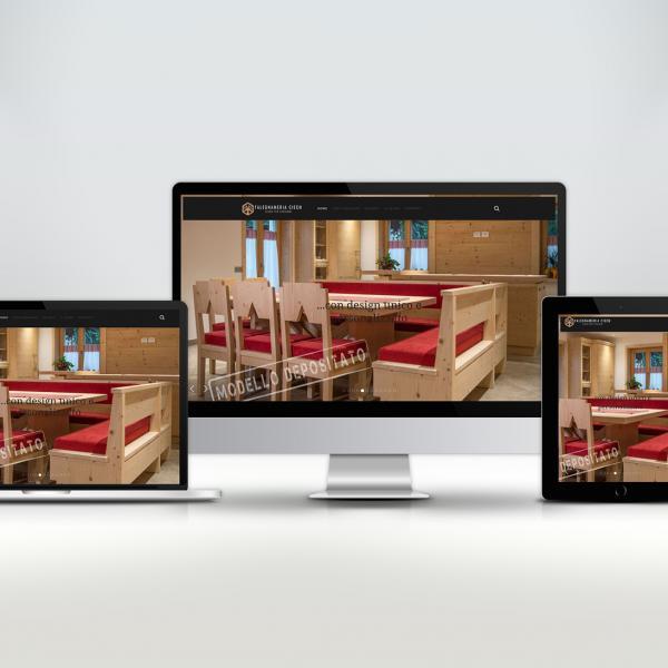 Web for Falegnameria trentini